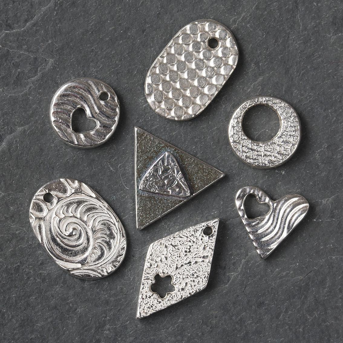 Silver Clay taster & fingerprint classes