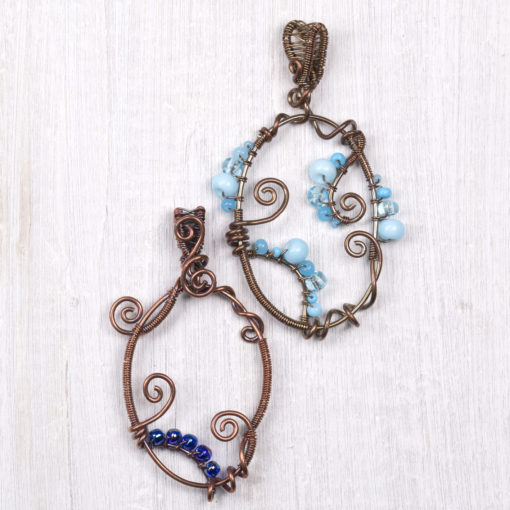 Wirework class jewellery by Hamilton Jewellery